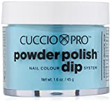 Cuccio Karibik Sky Blau Nail Farbe Dip System Tauchen Puder