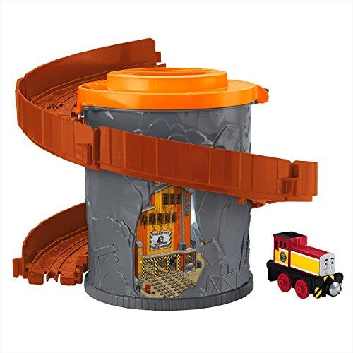 Thomas et ses Amis – Take-N-Play – Spiral Tower Tracks – Dart – Locomotive + Rails