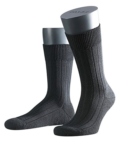 3 Paar Falke Teppich i.S. SO im Schuh Socken 14402 Klassiker für kalte Tage, Farbe:Black 3000;Socken & Strümpfe:43-44