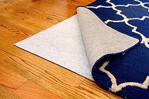 Teebaud 5'x 8' Rutschfeste Wendeteppich Pad für Teppich auf Teppich und Hartböden Oberflächen - 5 Teppich-pad, X 8