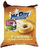 Mr. Day Ciambella con Vaniglia Naturale - 8 Pezzi