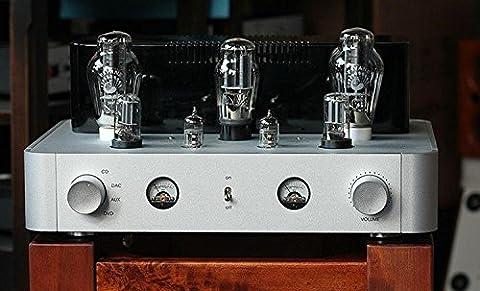 Gowe Tube Amp Châssis aluminium pur à la main échafaudage Amplificateur