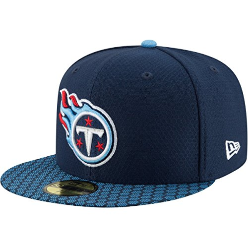 New Era 59Fifty Cap - NFL SIDELINE 2017 Tennessee Titans , 7 - (55,8cm),Navy - Demarco Murray T-shirt