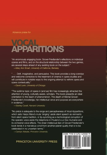 Vocal Apparitions: The Attraction of Cinema to Opera (Princeton Studies in Opera)
