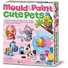 4M 403545 moulage et peinture de jolis animaux de compagnie