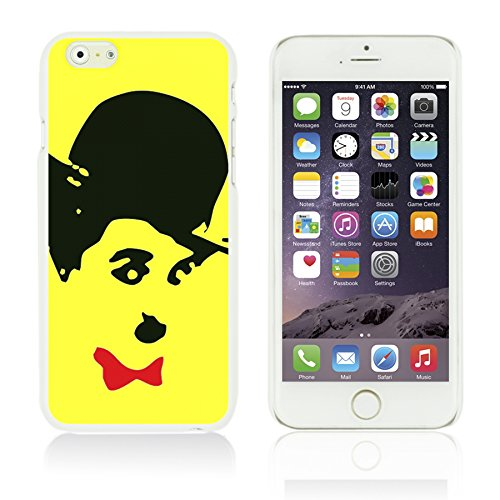 OBiDi - Celebrity Star Hard Back Case / Housse pour Apple iPhone 6 Plus / 6S Plus (5.5)Smartphone - Beautiful Queen Elizabeth II Cute Chaplin