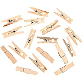 LEORX 2,5cm pinces à linge en bois Pinces à linge épingles–100