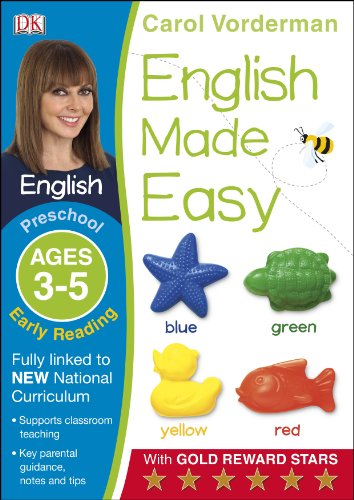 English Made Easy Preschool Early Reading Ages 3-5 (Carol Vorderman's English Made Easy)