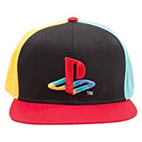 Bioworld Playstation Snapback Kappe - Original Logo und Farben [German Version]
