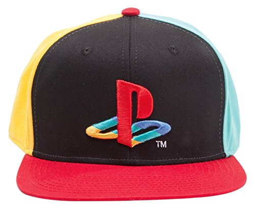 Bioworld Playstation Snapback Kappe - Original Logo und Farben  German  Version  051b618fd1a0