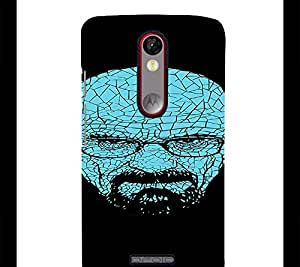 perfect print Back cover for Motorola Moto X Force