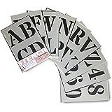 5,1 cm Alphabet Darice 121724 Kalligraphie-Schablone Gro/ß- und Kleinbuchstaben