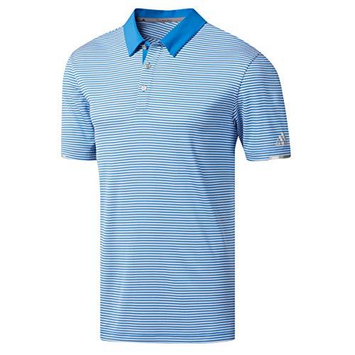Adidas Golf Shirt Blau (adidas Herren Climachill Tonal Stripe Polo Shirt Poloshirt Blau (Azul Dq2241) Medium)