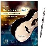 Harmonielehre endlich verstehen - BAND 2 - Einstieg in die Musiktheorie (nicht nur) für Gitarristen von Wolfgang Meffert - mit Musik-Bleistift