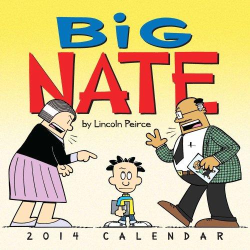 Big Nate 2014 Wall Calendar