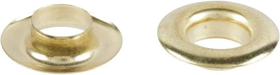 Chapuis VOB3 Set of 25 tank eyelets Brass assembly set Diameter 10 mm