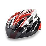#4: Micnaron Road Bike Helmet, Cycling Airflow Helmet with Detachable Goggles Adjustable Shield Visor