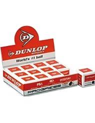 Dunlop Squash Ball 12x blue red yellow & doubleyellow