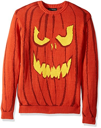 Pullover Halloween - Orange - Groß ()