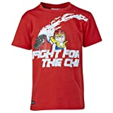Lego Wear Jungen T-Shirt LEGO Chima TRISTAN 403, Gr. 116, Rot (ADVENTURE RED)