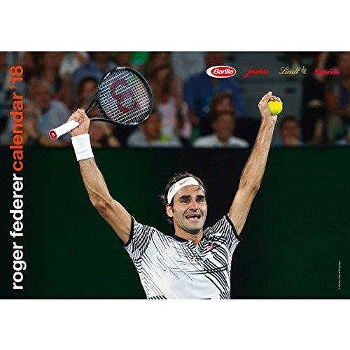 Kalender Tennis Roger Federer 2018DIN A3Wand