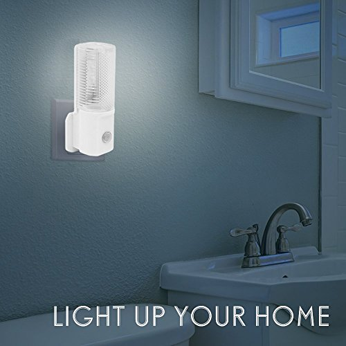 2-Pack-LED-Night-Light-Plug-In-Automatic-Dusk-to-Dawn-Sensor-Wall-Light-Energy-Saving-LED-Night-Light-for-Childrens-Room-Hallway-Stairs-and-Landings-White-2-Pack