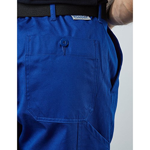 PIONIER WORKWEAR Herren Bundhose Cotton Pure in marineblau (Art.-Nr. 9391) Kornblau
