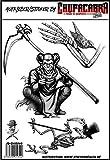 Unbekannt Reaper Aufkleberset Sticker Sensenmann Skelett Skull Schädel Cool Tod Aufkleber Sticker Totenkopf