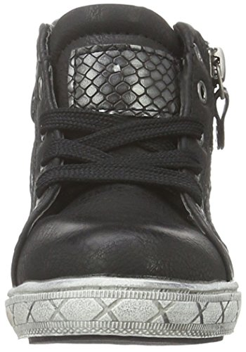 Supremo 1661203, Baskets Basses Fille Noir - Noir