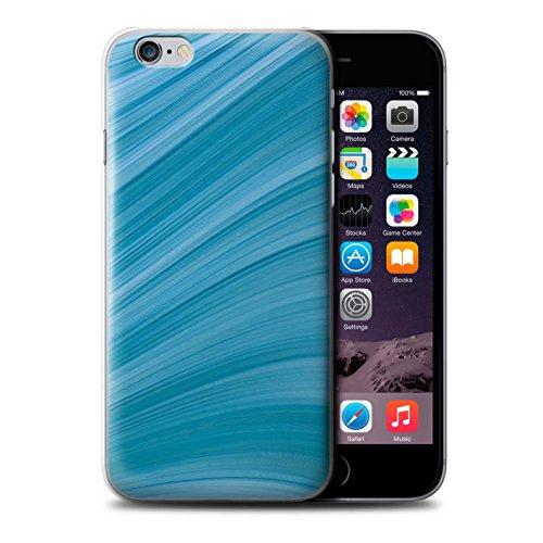 Stuff4 Hülle / Case für Apple iPhone 6 / Bokeh/Funkeln/Fokus Muster / Teal Mode Kollektion Abstrakte Welle