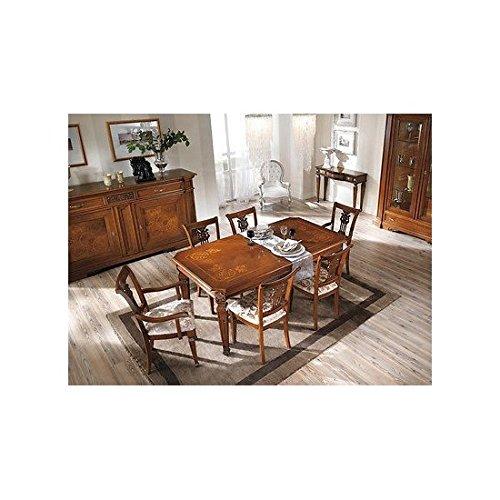 tavolo intarsiato legno usato | vedi tutte i 138 prezzi! - Tavolo Legno Massello Allungabile Usato