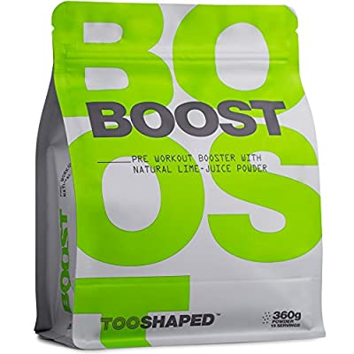 BOOST - Pre Workout Powder with BCAA, beta alanine, L-citrulline, caffeine, and more - more pump, energy and endurance from TOOSHAPED (360 g powder) from TOOSHAPED