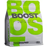 BOOST - Pre Workout Booster mit BCAA, L-Citrullin, Koffein usw. - mehr Pump, Energie und Ausdauer (Trainingsbooster) - von TOOSHAPED (360g Pulver)