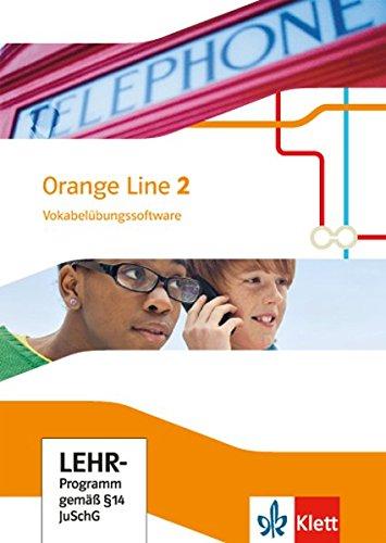 Orange Line 2: Vokabelübungssoftware Klasse 6 (Orange Line. Ausgabe ab 2014)