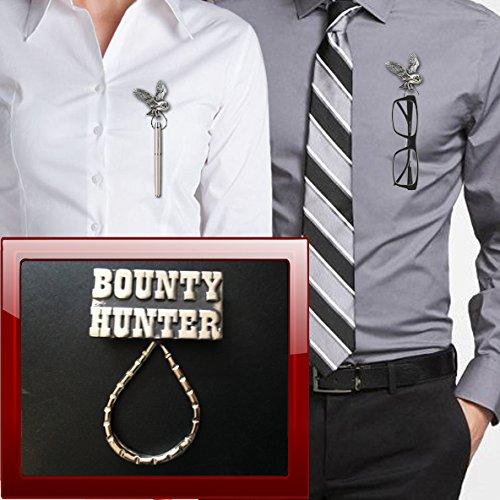 prideindetails Bounty Hunter SB-H1 Brosche aus Zinn für Brillen, Stifte, ID, Schmuck