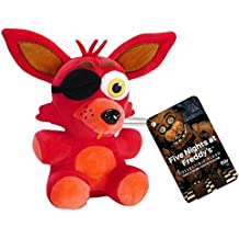 "Funko Five Nights at Freddy's Foxy Plush, 6"""