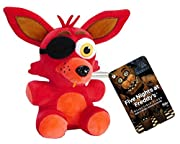 "Foxy has been transformed into a 6"" Plush by Funko! 6"" Plush figure features Funko's unique style. These adorable plush figures are perfect for any Five Nights at Freddy's fan! Check out the other FNAF Plush figures from Funko, collect them a..."