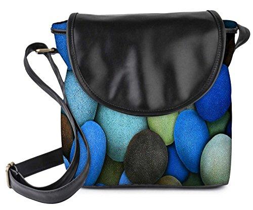 snoogg-colorful-pebble-stone-womens-sling-bag-small-size-tote-bag