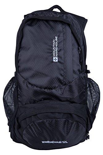 mountain-warehouse-mochila-walkabout-de-12-litros-negro-talla-unica