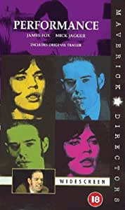 Performance  (Widescreen Edition)  [VHS] [1970]
