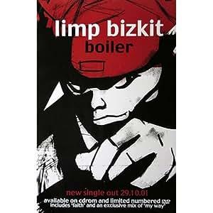 Limp Bizkit Poster Boiler