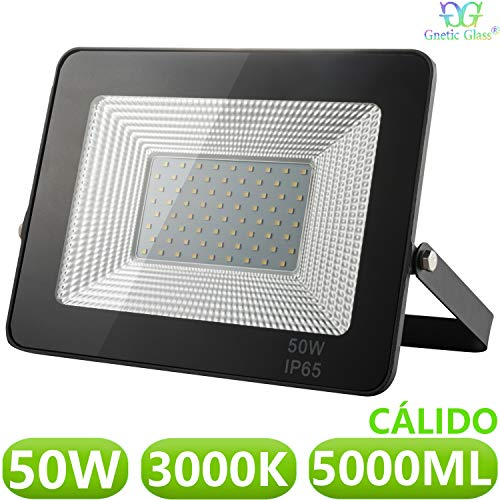 Foco LED exterior Floodlight 50W GNETIC GLASS Proyector