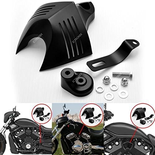 cromato 2x Head Bolt Covers per Harley Sportster XL883 XL1200 copri