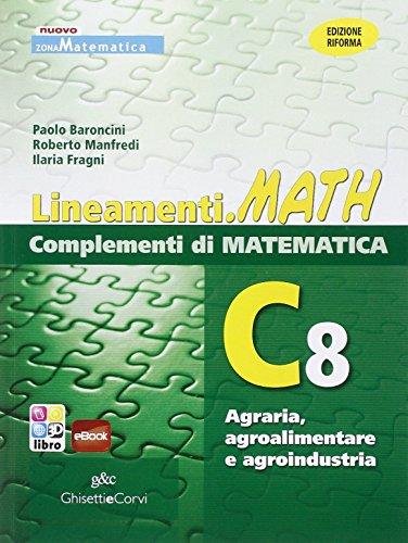 LINEAM.MATH COMPL.C8