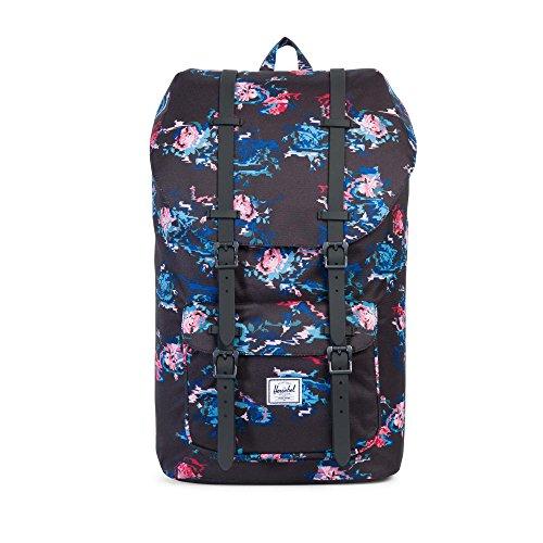 herschel-little-america-backpack-floral-blur-blumen-rucksack
