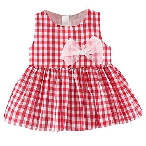 Vestido a Cuadros para bebé niña