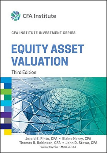 PDF] Download Equity Asset Valuation (CFA Institute