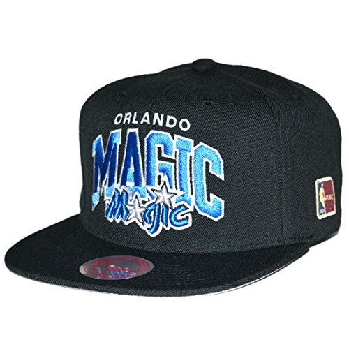 Mitchell & Ness Snapback Cap Orlando Magic Team Arch Black HWC