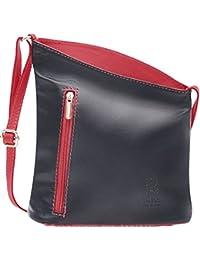 70a7d67c06b4 Handbag Bliss Italian Leather Small Crossover Crossbody Handbag Shoulder Bag