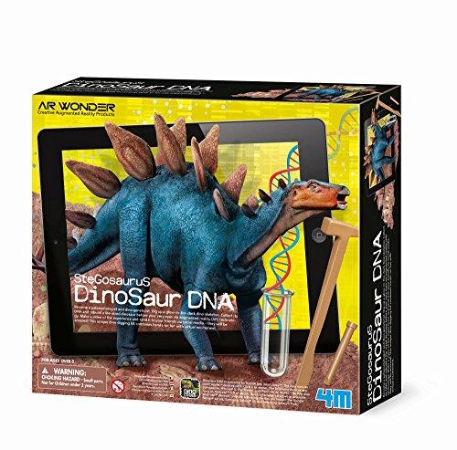 Preisvergleich Produktbild 4m Stegosaurus Dinosaurier DNA Spielzeug (Augmented Reality)